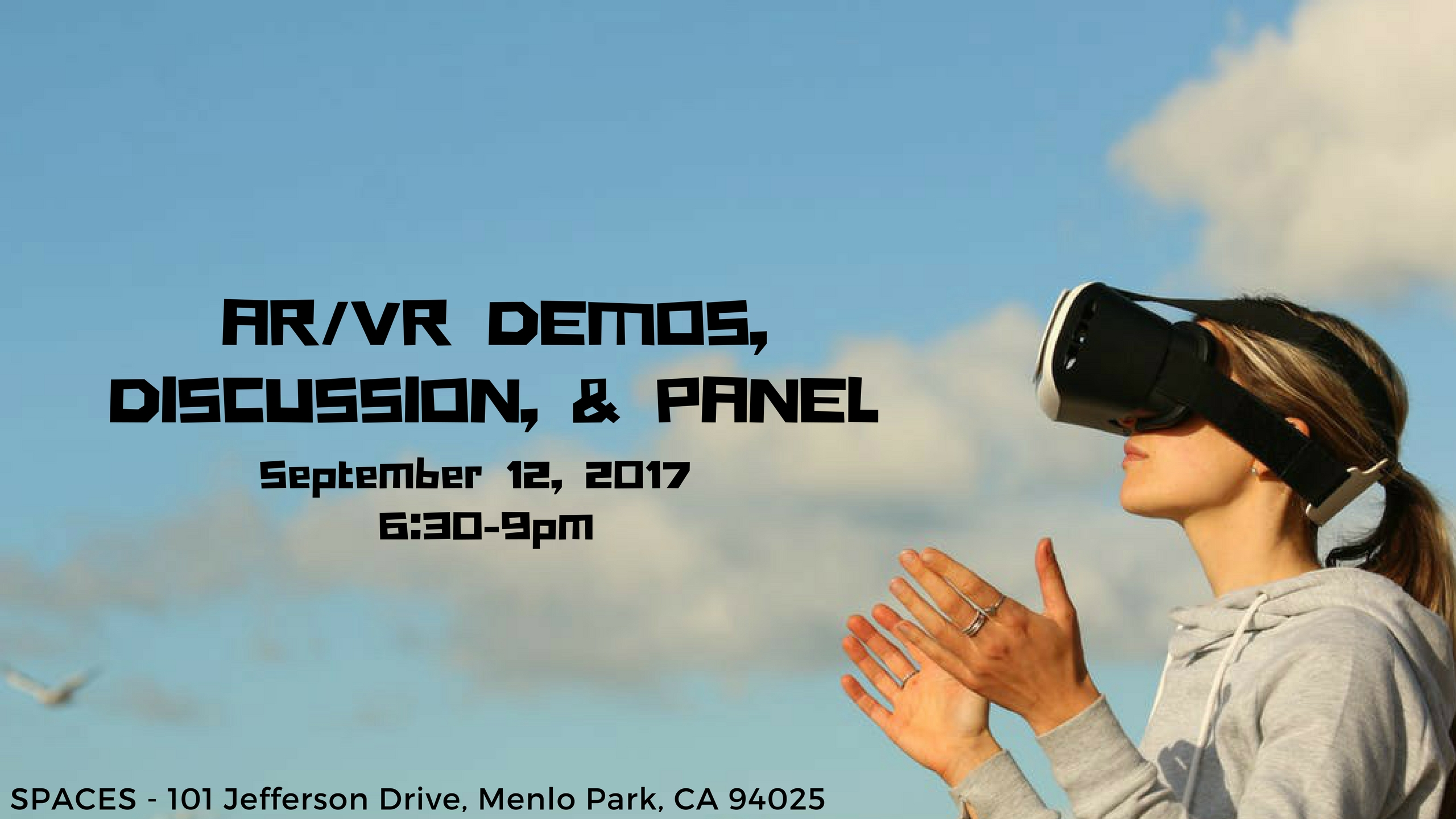 Silicon Valley AR/VR Pitch Event