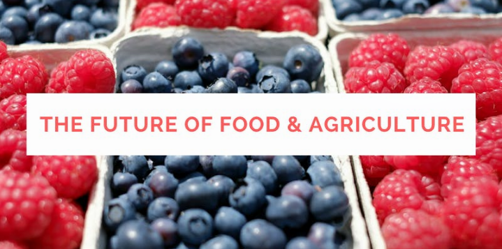 The future of food and agriculture